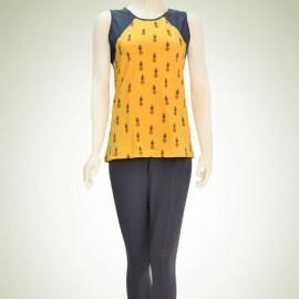 ژیله و شلوار زنانه چاپ آناناس