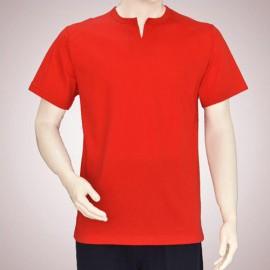تی شرت مردانه یقه چاکدار